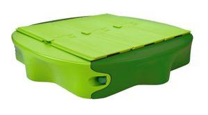 BIG Sandy Sandkasten hellgrün-dunkelgrün