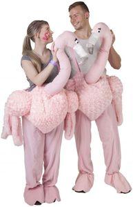 Kostüm - Flamingo - für Erwachsene