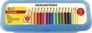 Eberhard Faber - Bunstiftebox 19-tlg.