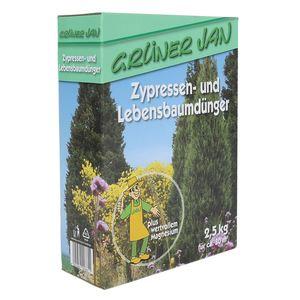 Grüner Jan Zypressen-und Lebensbaumdünger 2,5kg