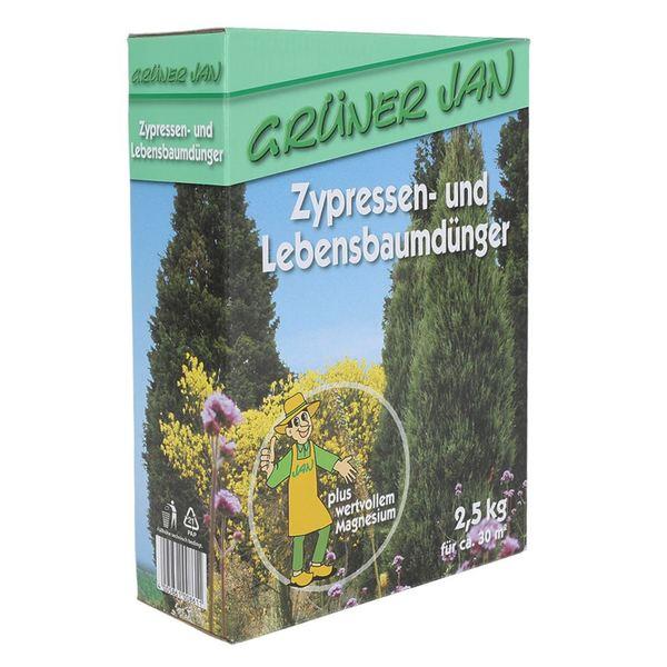 Grüner Jan Zypressen Und Lebensbaumdünger 25kg Von Thomas Philipps