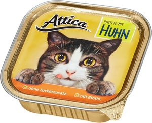 Attica Katzennahrung Pastete Huhn 100 g