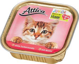 Attica Katzennahrung Junior Pastete mit Huhn 100 g