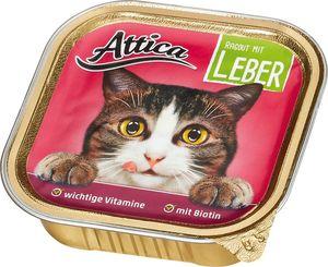 Attica Katzennahrung Ragout mit Leber 100 g