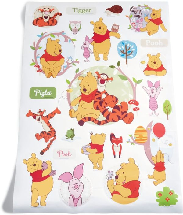 Kinderzimmer Wandsticker, Winnie the Pooh von Netto Marken ...
