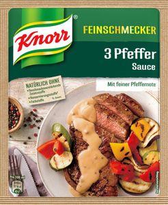 Knorr Feinschmecker Pfeffersauce, ergibt 250 ml