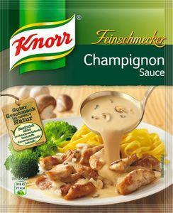 Knorr Feinschmecker Champignonsauce, ergibt 250ml