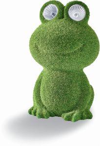 Living & Garden Solarfigur - Frosch Schorsch