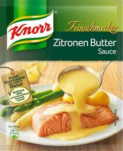 Knorr Feinschmecker Zitronen-Buttersauce, ergibt 250 ml