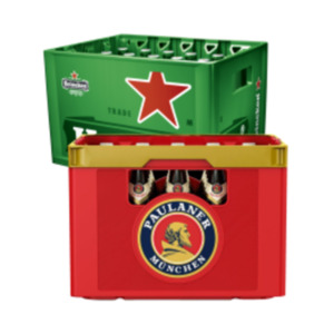 Paulaner Weissbier oder Heineken