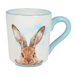 Kaffeetasse mit Hasenmotiv 350ml