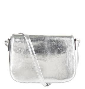 Mark Adam NY             Handtasche, Metallic, Knitter-Optik