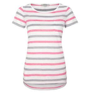 comma casual identity        Shirt, Kurzarm, Streifen