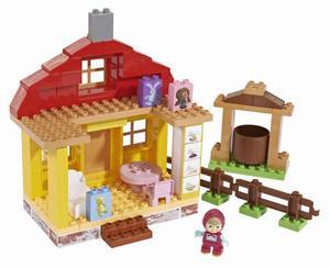 PlayBIG BLOXX Mascha und der Bär Maschas Haus