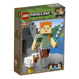 LEGO Minecraft 21149 Alex mit Huhn