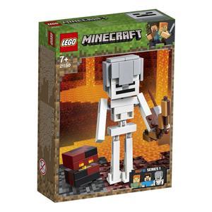 LEGO Minecraft 21150 Skelett mit Magmawürfel