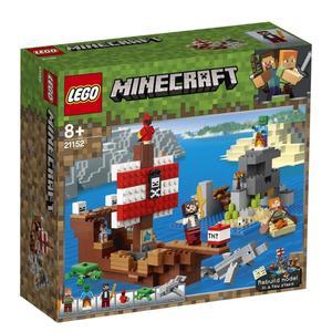 LEGO Minecraft 21152 Piratenschiffabenteuer
