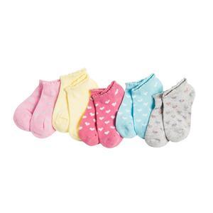 Kinder Sneaker Socken 5er-Pack für Mädchen