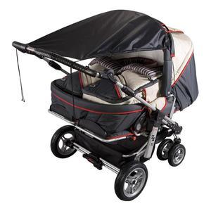 SunnyBaby Sonnensegel für Zwillingskinderwagen