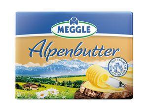 Meggle Alpenbutter/ Streichzart/Joghurtbutter