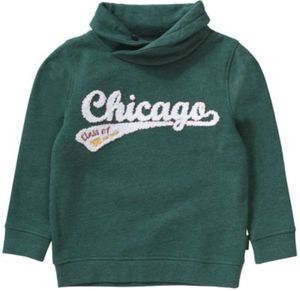 Sweatshirt mit Schalkragen Gr. 128/134 Jungen Kinder