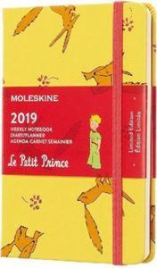 Moleskine Der Kleine Prinz Wochen Notizkalender 12 Monate, 2019, P/A6, Hard Cover, Sonnenblumengelb