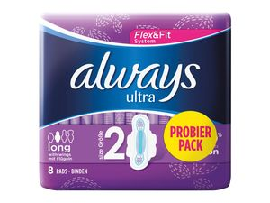 always Ultra Binden Probierpack
