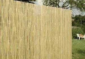 Floraworld Sichtschutz Bambus-Halbschale ,  3 x 0,9 m