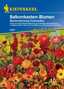 Kiepenkerl Saatgut Balkonkasten-Blumen ,  4 m