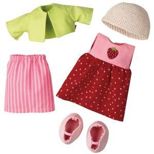 HABA Kleiderset Erdbeere