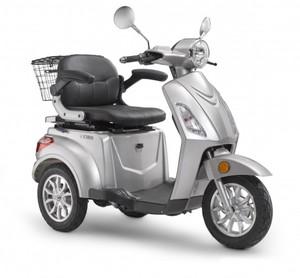 LuXXon Elektro-Dreirad 20 km/h ,  E3800, silber
