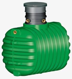 Garantia Regenwasser Erdtank Cristall ,  2.650 l, PKW-befahrbar