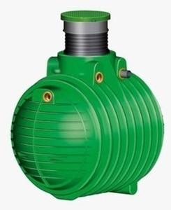 Garantia Regenwasser Erdtank Hauspaket Premium Columbus ,  6.500 l, PKW-befahrbar