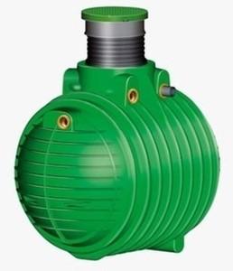 Garantia Regenwasser Erdtank Hauspaket Premium Columbus ,  6.500 l, begehbar