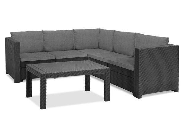 Keter Gartenmöbel Lounge Set Provence Mit Tisch Premium Von Lidl Für