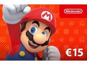 Digitaler Code für - Nintendo eShop-Guthaben: 15€