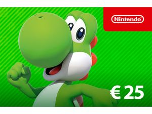 Digitaler Code für - Nintendo eShop-Guthaben: 25€