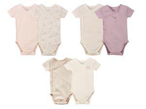 LUPILU® PURE COLLECITON 2 Baby Mädchen Bodys