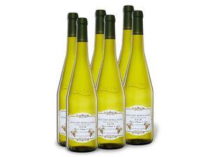 6 x 0,75-l-Flasche Weinpaket Muscadet Sèvre et Maine Sur Lie Cuvée Prestige AOP trocken