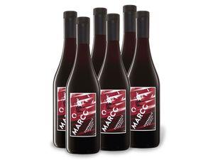 6 x 0,75-l-Flasche Weinpaket Marco Tempranillo trocken, Rotwein
