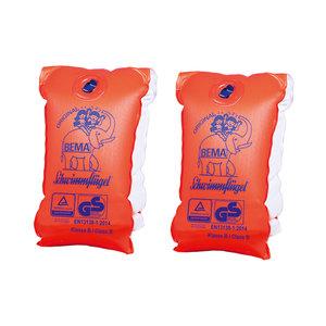 BEMA Schwimmflügel - orange - PVC - Größe 00