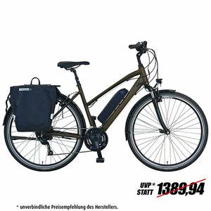 "PROPHETE E-Bike 28"" ENTDECKER e9.6 Damen - dunkelblau - 50 cm"