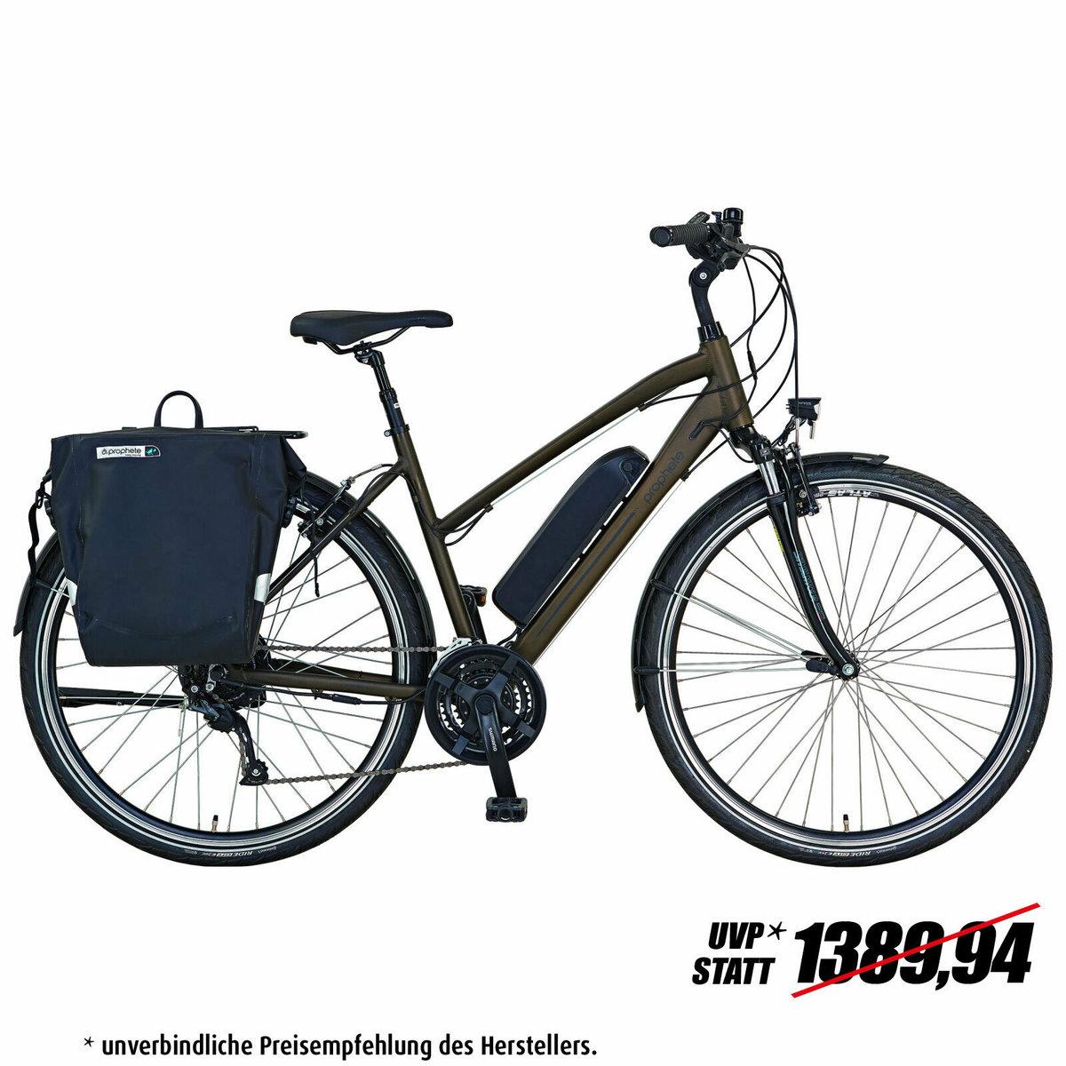 """Bild 1 von PROPHETE E-Bike 28"""" ENTDECKER e9.6 Damen - dunkelblau - 50 cm"""