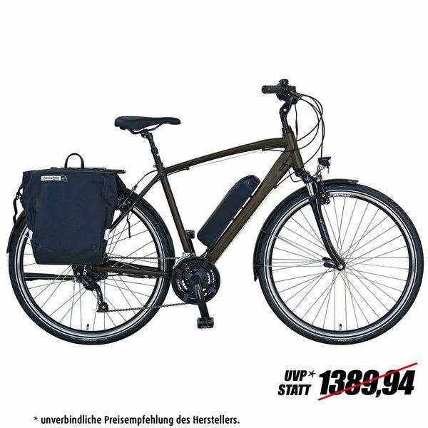 """PROPHETE E-Bike 28"""" ENTDECKER e9.6 Herren - dunkelbraun - 52 cm"""