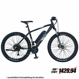 """REX E-Bike MTB 27,5"""" GRAVELER e9.4 - schwarz - 48 cm"""