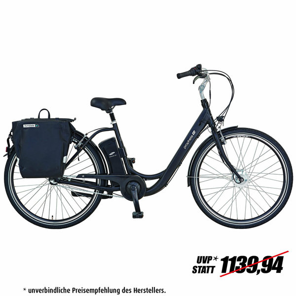 "PROPHETE E-Bike 28"" GENIESSER e 9.3. - schwarz-matt - 48 cm"