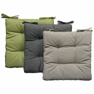 Outdoor Sitzkissen MELANGE - farbig sortiert - 40x40 cm