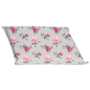 Sitzkissen PALO - grau-pink - 45x45 cm