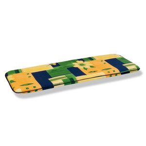 Bankauflage SEVILLA  - gelb-blau-grün