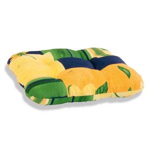 Sitzkissen SEVILLA - gelb-blau-grün